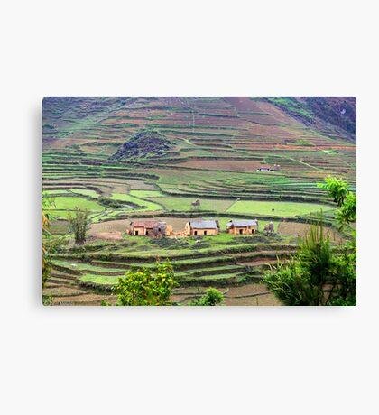 Nam Dam Village... Canvas Print