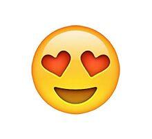 Heart Eyes Emoji by emilysmithart