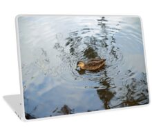 Duck on the Pond Laptop Skin