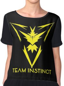 Team Instinct Logo | Pokemon Go Chiffon Top