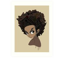 Huey Freeman - Black Power Art Print