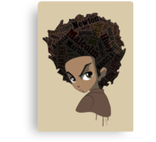 Huey Freeman - Black Power Canvas Print