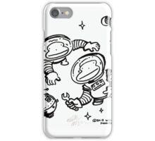 Space Apes Repair Satellite iPhone Case/Skin