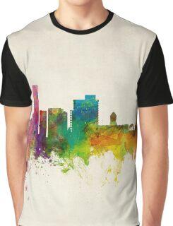 Port Elizabeth South Africa Skyline Graphic T-Shirt