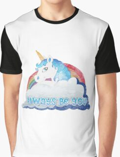 Central Intelligence - Unicorn (Faded as worn in the film) Bob Stone Graphic T-Shirt