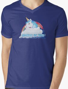 Central Intelligence - Unicorn (Faded as worn in the film) Mens V-Neck T-Shirt