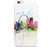 St Louis Missouri Skyline iPhone Case/Skin