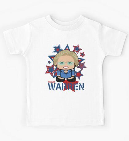 Team Warren Politico'bot Toy Robot Kids Tee