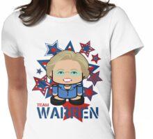 Team Warren Politico'bot Toy Robot Womens Fitted T-Shirt