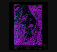 USGS TOPO Map Alaska AK Lime Hills D-5 357065 1954 63360 Inverted Unisex T-Shirt