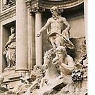 The Trevi Fountain by Catherine C.  Turner