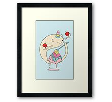 Butter Monster Framed Print
