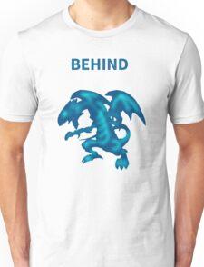 Behind Blue-Eyes W. Dragon Unisex T-Shirt