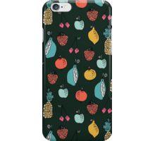 Tutti Fruit Pattern by Andrea Lauren iPhone Case/Skin