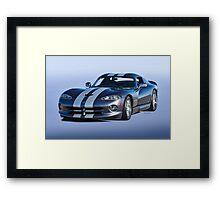 2000 Dodge Viper VS1 II Framed Print