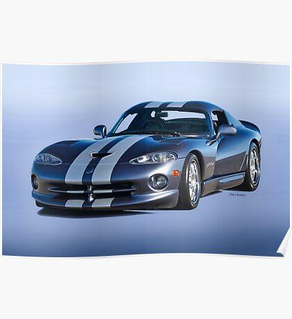 2000 Dodge Viper VS1 II Poster