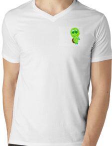 Tina Turtle Mens V-Neck T-Shirt