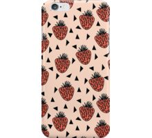 Strawberries - by Andrea Lauren iPhone Case/Skin