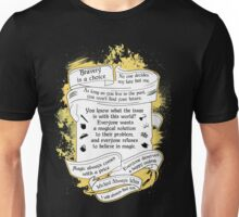 OUAT quotes. Once Upon A Time. V3. Unisex T-Shirt