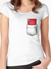 Pokedex in my pocket Women's Fitted Scoop T-Shirt