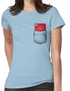 Pokedex in my pocket Womens Fitted T-Shirt