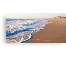 Surf on the beach, the Outer Banks Canvas Print