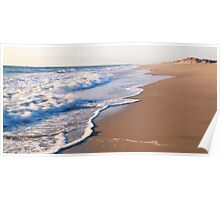 Surf on the beach, the Outer Banks Poster