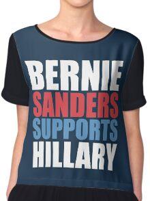 Bernie Sanders - Hillary Clinton Chiffon Top