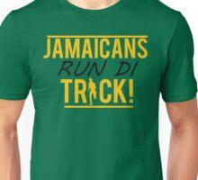 Jamaicans Run Di Track Unisex T-Shirt