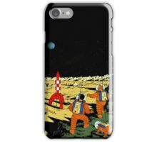 Explorers on the Moon iPhone Case/Skin