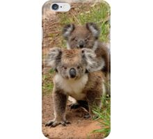 Furry Mother and Child iPhone Case/Skin