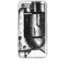 Sketchy Revolver iPhone Case/Skin