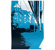 Wall Reflection Poster