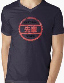 senpai certified Mens V-Neck T-Shirt