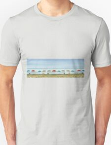 Deserted beach. Unisex T-Shirt