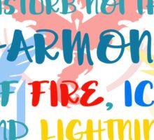 Disturb Not the Harmony: Pokemon GO Sticker