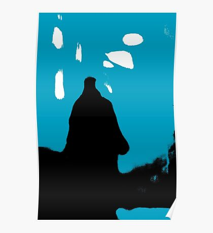 Shadow Figure Poster