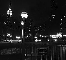 Empire State Building at Night by mar78me