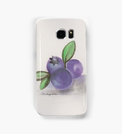 Nova Scotia Blueberries Samsung Galaxy Case/Skin