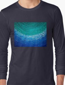 Ride the Wave original painting Long Sleeve T-Shirt