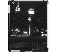 Empire State Building at Night iPad Case/Skin