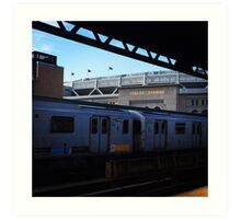 Yankee Stadium Subway Station Art Print