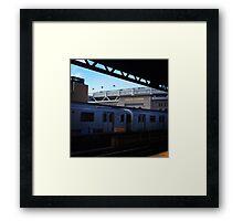 Yankee Stadium Subway Station Framed Print