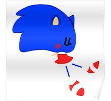 Chibi Sonic the Hedgehog Poster
