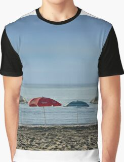 Deserted beach. Graphic T-Shirt