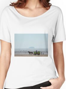 Life and recreation at  beach Women's Relaxed Fit T-Shirt