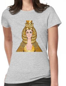 A wink & a smile Womens Fitted T-Shirt