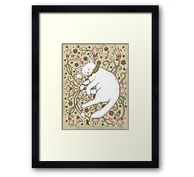 Mice and Moths Framed Print