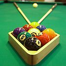 Behind the 8 Ball - Racked up and ready to go.... by Buckwhite