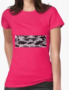 Underwater panorama Womens Fitted T-Shirt